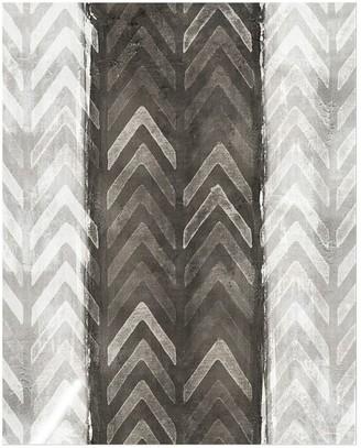 Pottery Barn Charcoal Herringbone Canvas