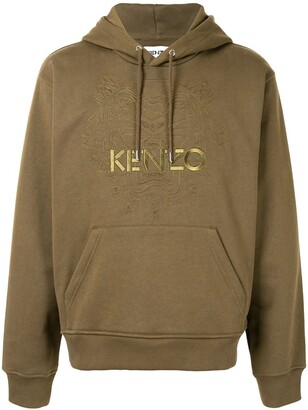 Kenzo Tiger motif hoodie