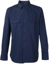 Rag & Bone chest patch pockets shirt - men - Cotton - XXL