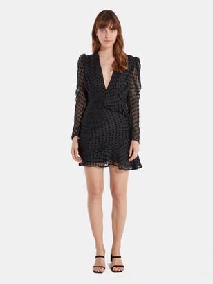 IRO Callagan Asymmetrical Ruffle Mini Dress