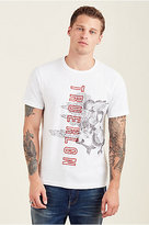 True Religion In The Clouds Mens Tee