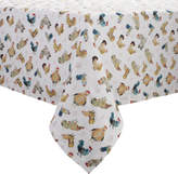 Sur La Table Jacques Pepin Collection Assorted Chickens Tablecloth
