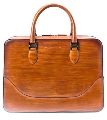 Magnanni Medium Leather Briefcase