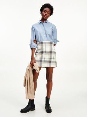 Tommy Hilfiger Tartan Mini Skirt