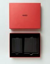 HUGO BOSS HUGO by Leather Wallet Gift Set Black