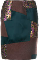 Kolor patchwork pencil skirt