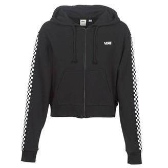 Vans Women's Funnier Times Crop Zip Hoodie Hooded Sweatshirt