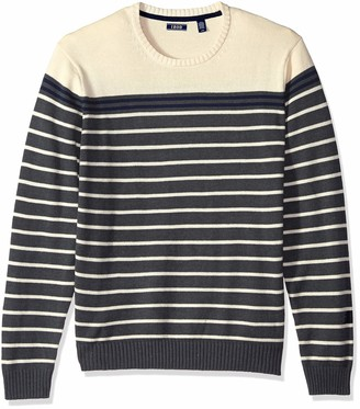 Izod Men's 7 Gauge Crewneck Sweater