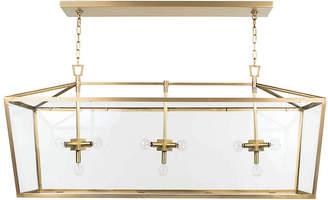 REGINA ANDREW Camden Linear Lantern - Natural Brass