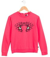 Molo Girls' Embroidered Sweatshirt