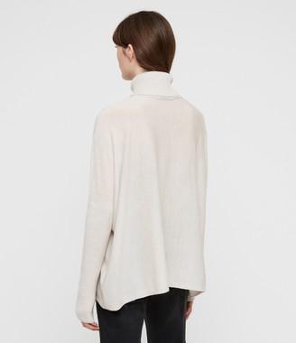 AllSaints Koko Wrap Sweater