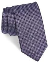 HUGO Men's Boss Geometric Silk Tie