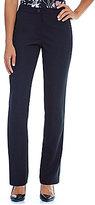 Ivanka Trump Straight-Leg Crepe Pants