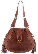 Zac Posen Leather Hobo Bag