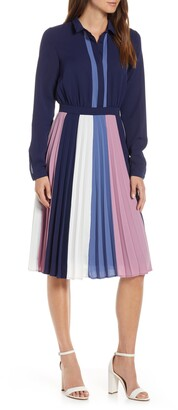 1901 Colorblock Midi Dress