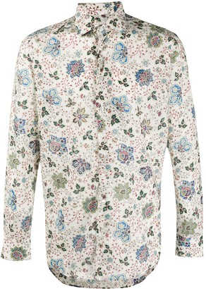 Etro Paisley-Print Dress Shirt