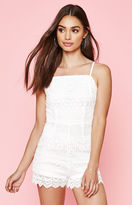 KENDALL + KYLIE Kendall & Kylie Allover Crochet Romper