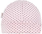 Kushies Pink Polka Dot Beanie