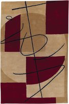Surya HST3005-3353 Burgundy Naya Collection Rug - 3ft 3in X 5ft 3in