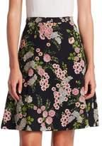 Giambattista Valli Floral A-Line Skirt