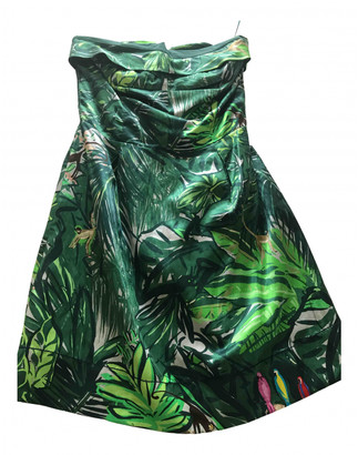 Louis Vuitton Green Silk Dresses