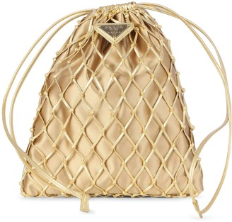 Prada Mesh Bucket Bag