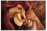 Disney The Lion King ''Pride Love Everlasting'' Giclée by Darren Wilson