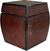 One Kings Lane Vintage Antique Japanese Concave Storage Box