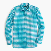 J.Crew Tall boy shirt in crinkle gingham