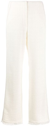 Nanushka High-Rise Wide-Leg Trousers