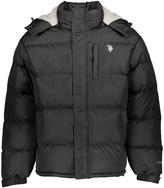 U.S. Polo Assn. Black Classic Bubble Puffer Coat