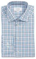 Eton Men's Big & Tall Contemporary Fit Check Dress Shirt