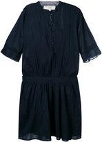 Vanessa Bruno short sleeve collarless shirt dress