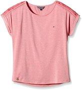 Tommy Hilfiger Girl's Jumper - Pink -