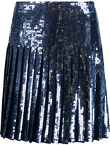Emilio Pucci Pleated sequined tulle skirt