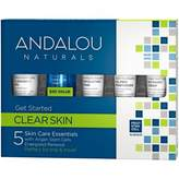 Andalou Naturals Clear Skin Get Started Kit 5 pack