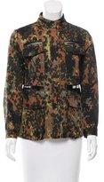 Rachel Comey Mesh-Paneled Camouflage jacket