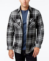 Club Room Men's Lined Plaid Shirt-Jacket, Only at Macy's