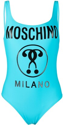 Moschino Double Question Mark swimsuit