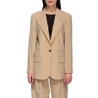 Alysi Unlined Single-breasted Blazer