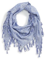 Madewell Women's Jacquard Diamond-Shape Scarf