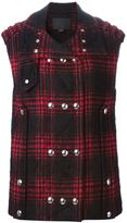 Alexander Wang double breasted waistcoat - women - Cotton/Polyamide/Polyester/Virgin Wool - 4