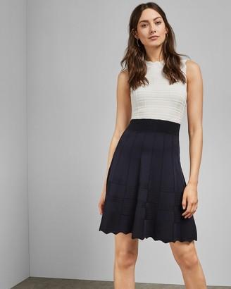 Ted Baker Sleeveless Knitted Dress