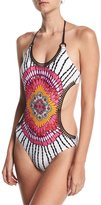 Trina Turk Ibiza Halter-Neck One-Piece Swimsuit