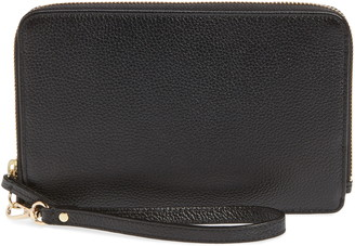 Nordstrom Amal Leather Zip Wallet