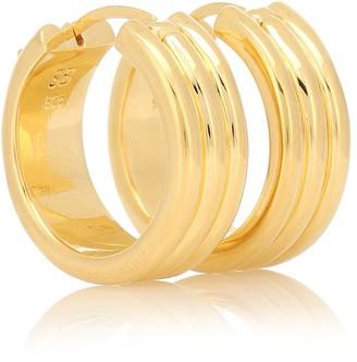 Sophie Buhai Large Three Sisters 18kt gold-vermeil earrings