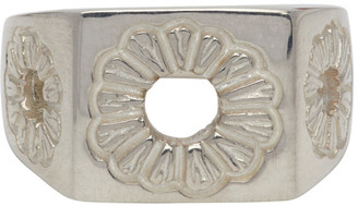 Bleue Burnham Silver The Marigold Signet Ring