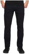 Hudson Blake Stretch Slim Straight in Hale Navy Men's Jeans