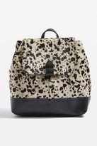 Premium leather pony backpack