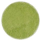 SMYTShop Non-slip Mats Thickened Circular Carpet Mats Dining Room Bedroom Carpet Floor Mat 4040CM (Green)
